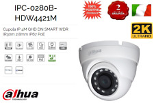 IPC-HDW4421M TELE CAMERA DHAUA DOME IP 4MPX 1080P ECO-SAVVY 2.0 PoE IP67