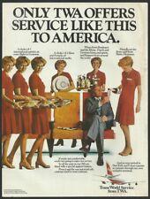 TWA 1975 Vintage Airlines Print Ad