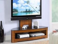 "Jual Furnishings JF209 Walnut Cantilever TV Stand Unit With Bracket upto 60"" TV"
