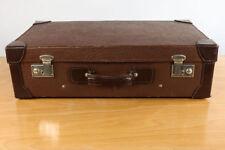Alter Leder Reise Auto Koffer 70x41x21 Vintage Leather Suitcase 30er 40er Jahre
