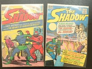 """ARCHIE COMICS """"THE SHADOW"""", # 4,& 5"""