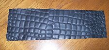LOOK! BLACK. BROWN. OR AMBER BROWN ALLIGATOR PRINT LEATHER WRAP FOR CUE HANDLE