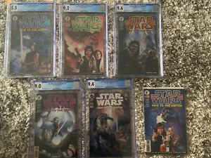 Dark Horse Comics Star Wars HEIR TO THE EMPIRE 1-6 Complete Set MINT 1 2 3 4 5 6
