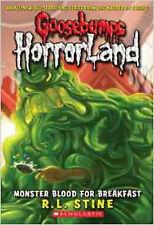 Monster Blood for Breakfast! (Goosebumps Horrorland), New, R L Stine Book