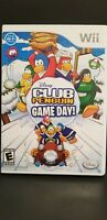 Nintendo Wii Disney's Club Penguin: Game Day -Complete -Tested and Guaranteed