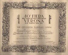 40a fiera dell'agricoltura e dei cavalli: Verona: 8-16 marzo 1936 - XIV: XIIIa e