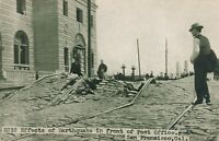 SAN FRANCISCO CA – Effects of Earthquake in Front of Post Office –udb (pre 1908)