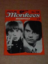Monkees Monthly Book No. 18 July 1968