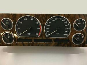 Jaguar Xj6 Xj II X300 94-97  Chrome Gauge Trim Dial Rings Polished Alloy  x6