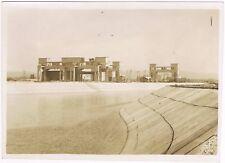 KEMBS sur le RHIN Centrale Hydroélectrique Grand Canal Alsace Photo ALBIETZ 1932