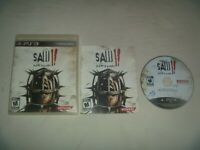 Saw II: Flesh & Blood (2010) Sony Playstation 3 PS3 Game Complete Very Good