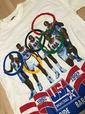 THE 1992 U.S. OLYMPIC MEN'S BASKETBALL TEAM Barcelona Vintage T-shirt Size M