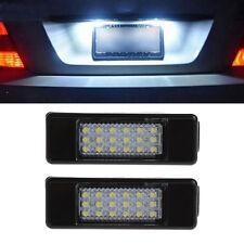 18LED License Plate Light For Peugeot 207 Citroen C2 Pluriel Baujahr Limousine