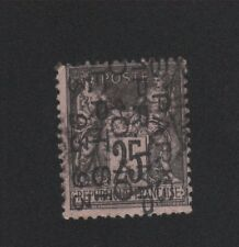 Préoblitéré timbre de France N° 19, 25 c Sage