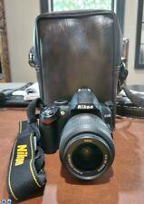 Nikon D D3000 10.2MP Digital SLR Camera - Black (Body Only)