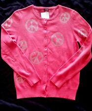 GC FONTANA ESCLUSIVO Cardigan in Pink con glitter TGL 40/42 NUOVI