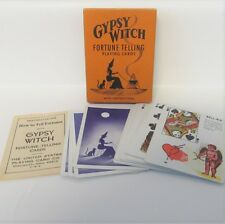 Gypsy Witch Fortune Telling Playing Cards Vintage Tarot