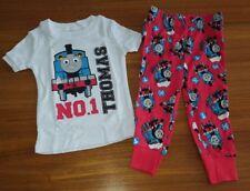 NEW Old Navy Boys 18-24 MONTHS Thomas Tank Engine Pajamas SHORT SLEEVE & PANTS
