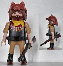 Playmobil western - cowboy - scout - éclaireur - trappeur #53 - custom