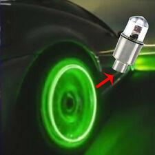 4 Car Tire Tyre Wheel Dust Stems Air Valves Cap Stem LED Light Cover Accessories