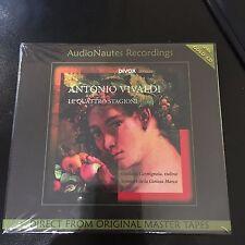 ANTONIO VIVALDI LE QUATTRO STAGIONI, FOUR SEASONS, CARMIGNOLA, 24 KARAT GOLD CD