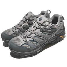 Merrell Moab 2 GTX Gore-Tex Vibram Grey Black Men Outdoors Hiking Shoes J02531