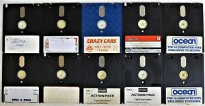 10 +3 Inch Used Blank Discs For Sinclair ZX Spectrum OR Amstrad CPC / PCW