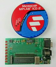 Microchip Mplab Icd 2 In Circuit Debugger With Demo Board