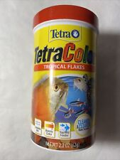 Tetra TetraColor Tropical Flakes 2.2 oz brand new: free Shipping!