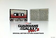 GUARDIANS OF THE GALAXY Awesome Mix Vol 2 CASSETTE Tape Soundtrack SHIPS NOW