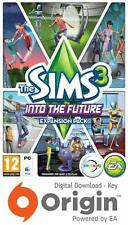 THE SIMS 3 INTO THE FUTURE EXPANSION PACK PC AND MAC ORIGIN KEY
