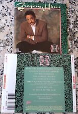GREGORY HINES 1988 RARE CD Luther Vandross David Lasley Lisa Fischer Houston