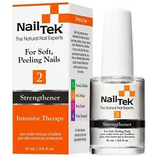 2 bottles Nail Tek Intensive Therapy 2 Strengthener for Soft Peeling Nails 0.5oz