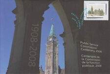 CANADA #S78 PUBLIC SERVICE COMMISSION OF CANADA (1908-2008) SPECIAL EVENT COVER