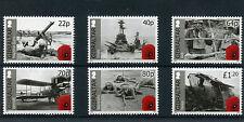 Gibraltar 2015 MNH WWI World War I Cent Part II 6v Set First Ships Tanks Stamps