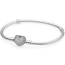PANDORA Armband 590727 CZ Pavé-Herz Silber