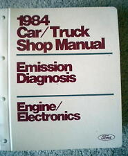 New listing 1984 Ford Car & Truck Emission Diagnosis/ Engine Electronics Manual Mustang