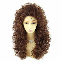 Wiwigs Untamed Long Light Brown Curly Wild Ladies Wig