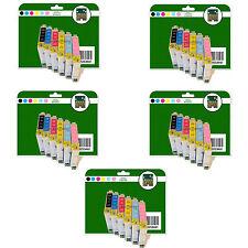 Ogni 30 CARTUCCE DI INCHIOSTRO PER EPSON R200 R220 R300 R300M R320 R340 NON-OEM e481-6