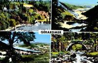 CPA 88  GERARDMER  embarcaderes vallee des lacs lac pont des fees