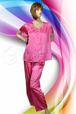 100 % SHEER Polyester 2 Pc Set Pajama S M L XL 2XL from BLAIR Light Breathable