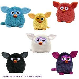 Furby 'Black, White, Blue, Yellow, Orange, Purple' Assorted 8 Inch Plush Soft To