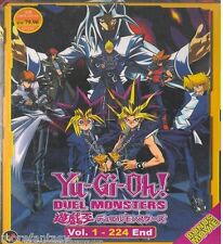 DVD YU-GI-OH DUEL MONSTERS ( VOL 1-224 END ) ENGLISH SUBTITLE + BONUS ANIME