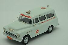 Chevrolet Suburban Ambulance Israel Magen David Adom 1956 BRK. ISR 02 Brooklin