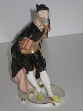 Nymphenburg Porcelain Figurine Commedia Dell' Arte Pantalone Bustelli 1900 !