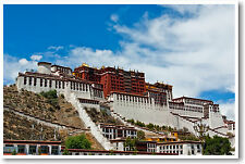 Potala Palace, Lhasa Tibet - Dalai Lama -Travel -  NEW POSTER