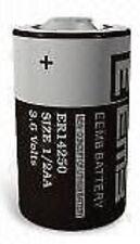 5 pz BATTERIA LITIO  1/2 AA 3,6 V  ER14250 ER 14250 CON POLI