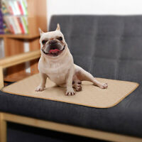 Puppy Pet Dog Toilet Training Pee Diaper Pad Urine Pad Mat Waterproof Reusable O