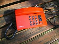 Mybelle vintage telephone with loud dialing and music on hold