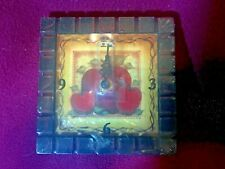 """Clock with Apples from Crazy Mountain Imports- 5""""x 5""""."""
